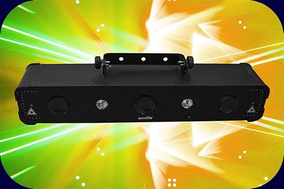 Eurolite LED Multi FX Laser Bar DJ Equipment Bremen