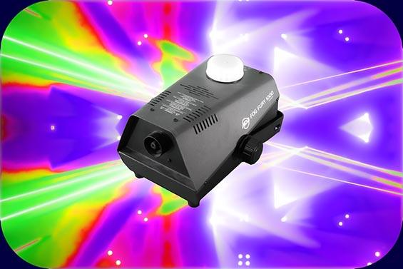Nebelmaschine DJ Partyequipment für Hochzeiten und Events
