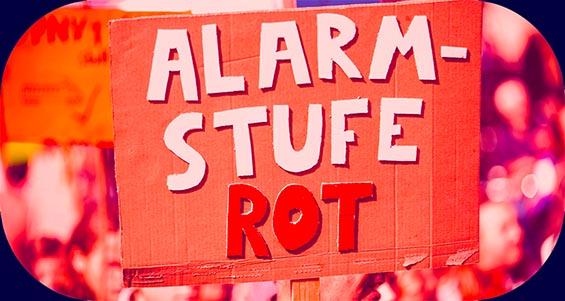Alarmstufe Rot Demo – Demo für Veranstaltungen & finanzielle Hilfen