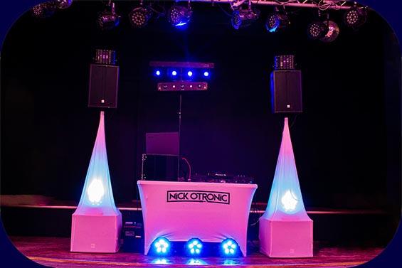 DJ Equipment im Borgfelder Landhaus Bremen