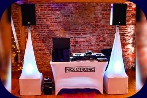 Anlage DJ Nick Otronic aufgebaut
