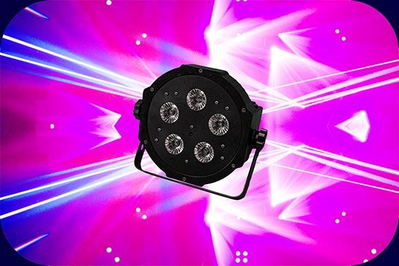 ADJ Mega TriPar Profile Plus DJ Equipment Lichpaket Basic