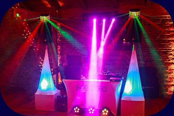 DJ Anlage & Licht Nick Otronic